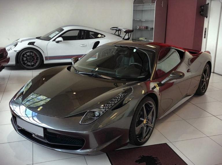 Ferrari 458 Italia Coupé