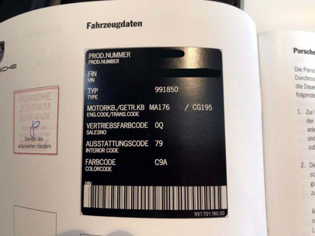 991 GTS RS18